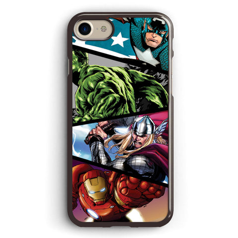 Marvel's Superheroes in Action Apple iPhone 7 Case Cover ISVA218