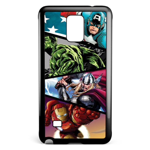 Marvel's Superheroes in Action Samsung Galaxy Note 4 Case Cover ISVA218