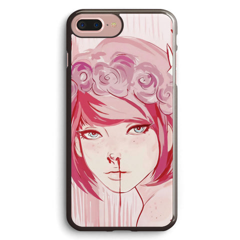 Max Caulfield  pink Apple iPhone 7 Plus Case Cover ISVD541
