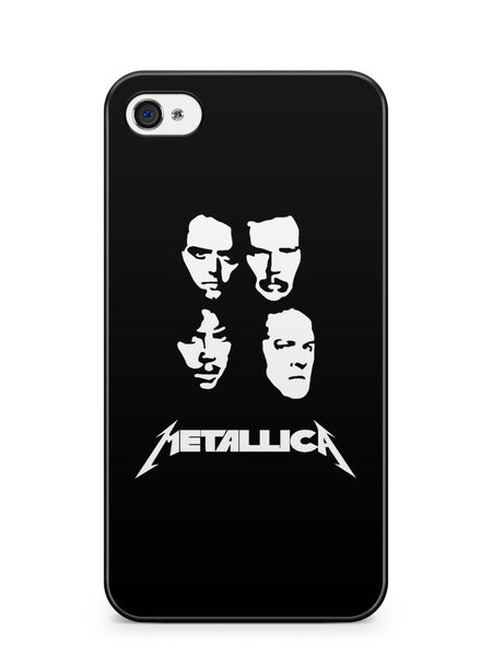 Metallica on the Howard Stern Show Apple iPhone 4 / iPhone 4S Case Cover ISVA373