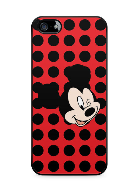 Mickey Mouse Wink Apple iPhone 5c Case Cover ISVA387