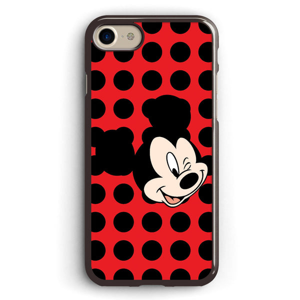 Mickey Mouse Wink Apple iPhone 7 Case Cover ISVA387