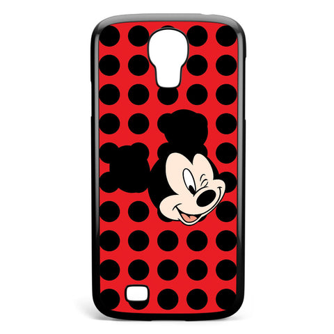 Mickey Mouse Wink Samsung Galaxy S4 Case Cover ISVA387