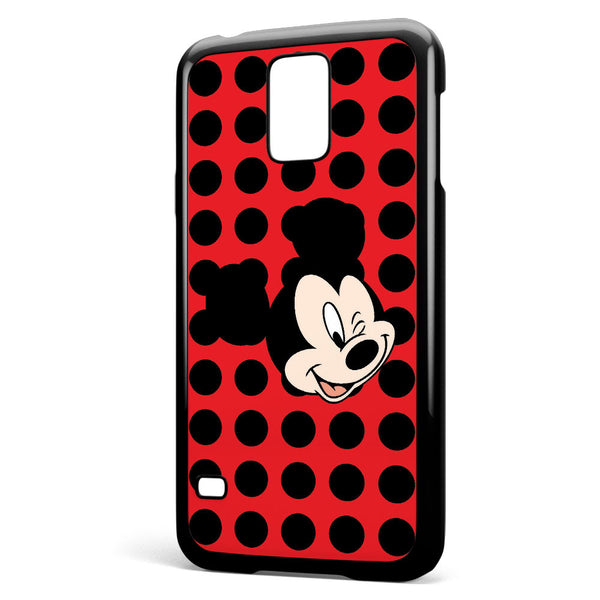 Mickey Mouse Wink Samsung Galaxy S5 Case Cover ISVA387