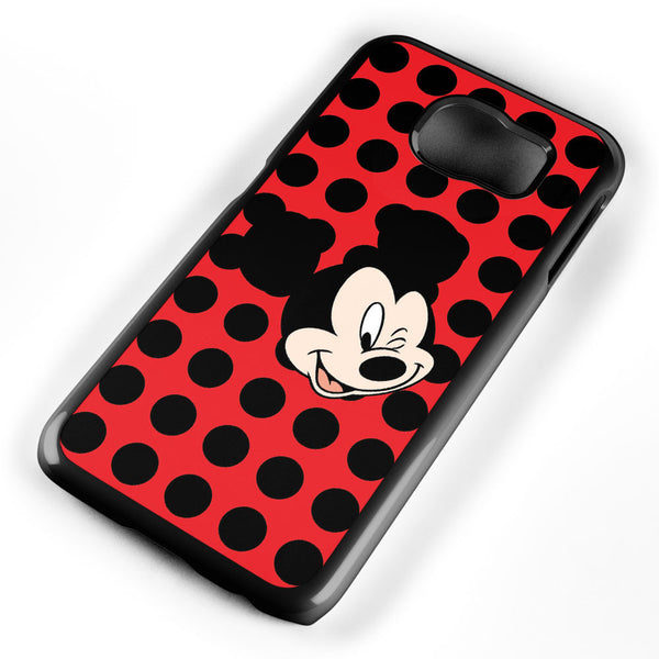 Mickey Mouse Wink Samsung Galaxy S6 Case Cover ISVA387