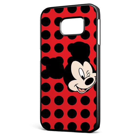 Mickey Mouse Wink Samsung Galaxy S6 Edge Case Cover ISVA387