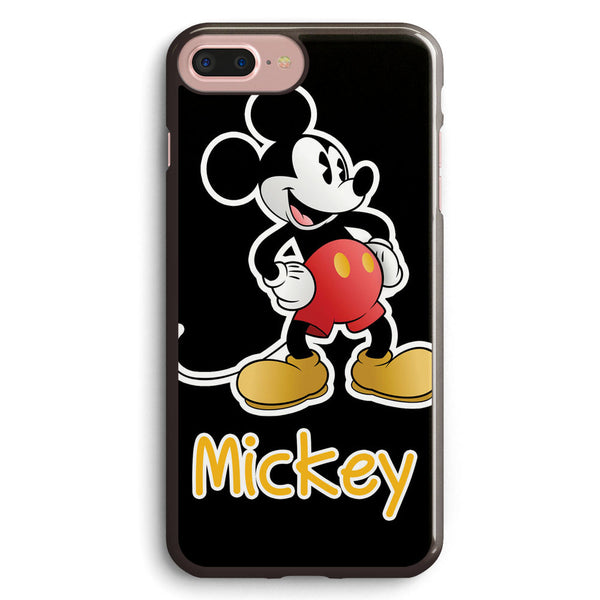 Mickey  white Border Apple iPhone 7 Plus Case Cover ISVC293