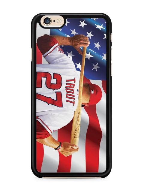Mike Trout Los Angeles Angels Anaheim Apple iPhone 6 / iPhone 6s Case Cover ISVA224