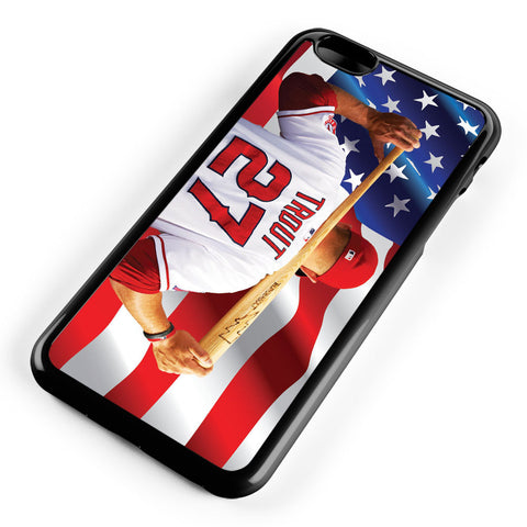 Mike Trout Los Angeles Angels Anaheim Apple iPhone 6 Plus / iPhone 6s Plus ISVA224