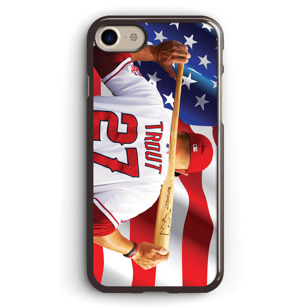Mike Trout Los Angeles Angels Anaheim Apple iPhone 7 Case Cover ISVA224