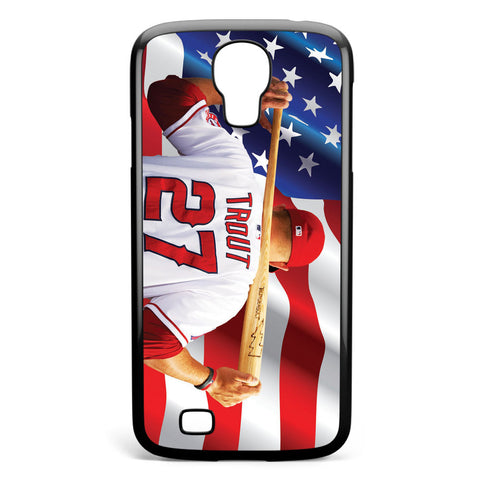 Mike Trout Los Angeles Angels Anaheim Samsung Galaxy S4 Case Cover ISVA224