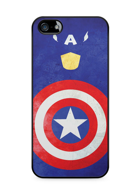 Minimalist Captain America Apple iPhone 5c Case Cover ISVA327