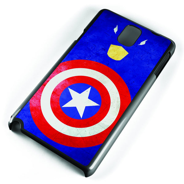 Minimalist Captain America Samsung Galaxy Note 3 Case Cover ISVA327
