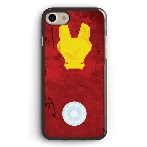 Minimalist Iron Man Apple iPhone 7 Case Cover ISVA333