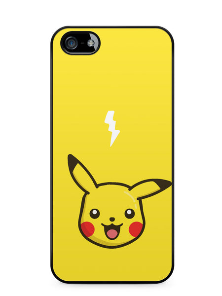 Minimalist Kawaii Pikachu Apple iPhone 5c Case Cover ISVA201