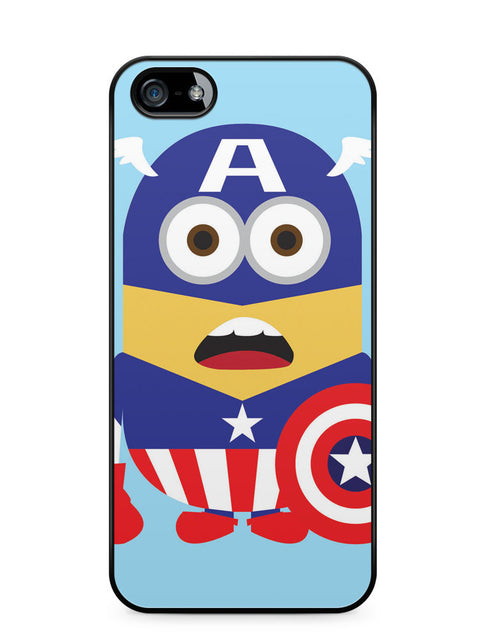 Minions Captain America Apple iPhone 5c Case Cover ISVA547