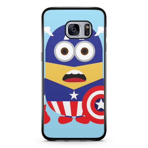 Minions Captain America Samsung Galaxy S7 Case Cover ISVA547