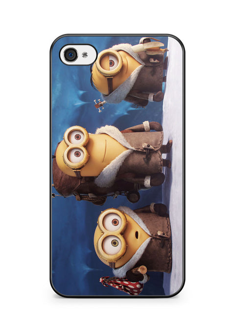 Minions Ice Age Apple iPhone 4 / iPhone 4S Case Cover ISVA551