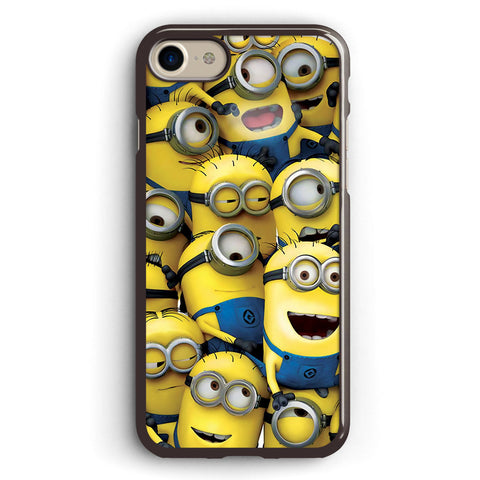 Minions Pile Apple iPhone 7 Case Cover ISVA548