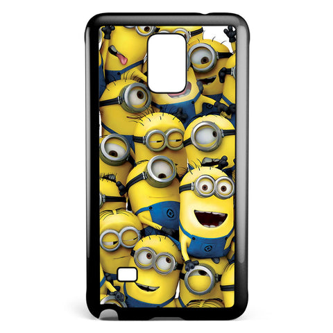 Minions Pile Samsung Galaxy Note 4 Case Cover ISVA548