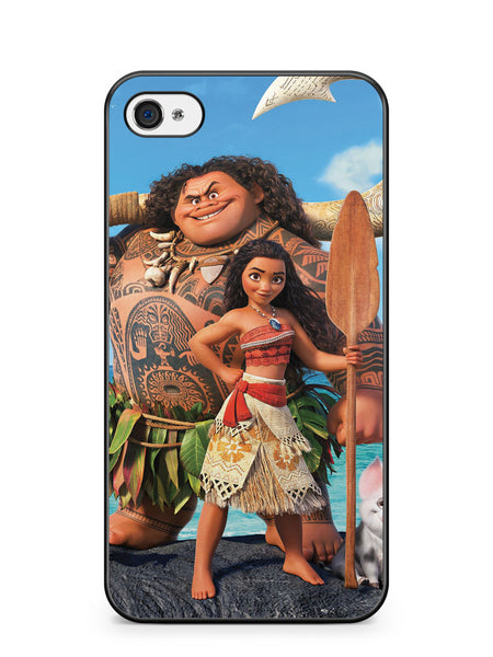 Moana and Maui Apple iPhone 4 / iPhone 4S Case Cover ISVA454