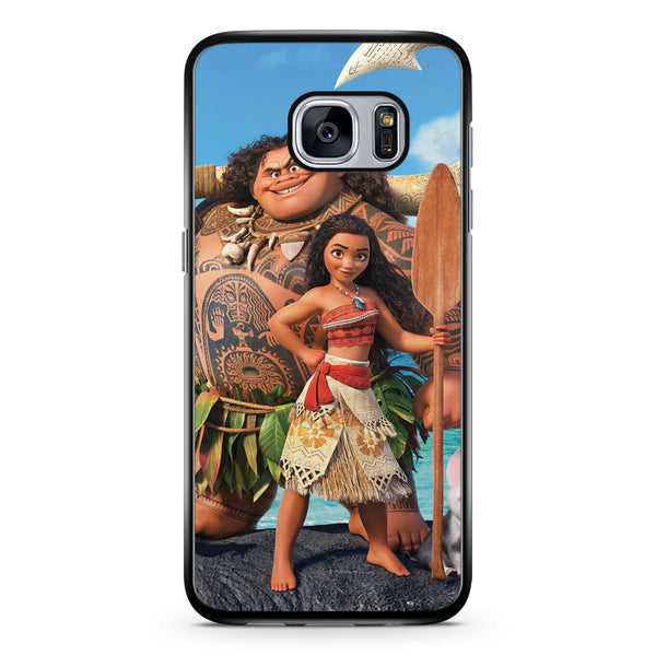 Moana and Maui Samsung Galaxy S7 Case Cover ISVA454