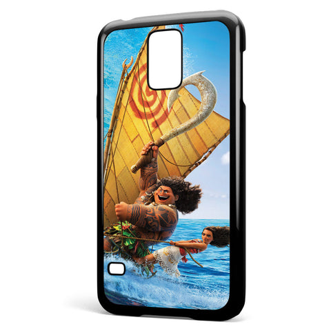 Moana and Maui Surfing Samsung Galaxy S5 Case Cover ISVA458
