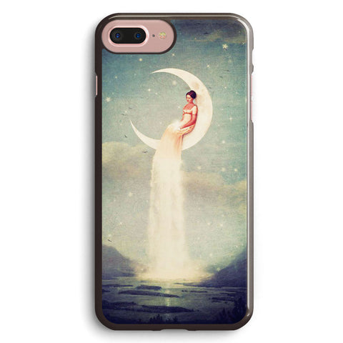 Moon River Lady Apple iPhone 7 Plus Case Cover ISVE105
