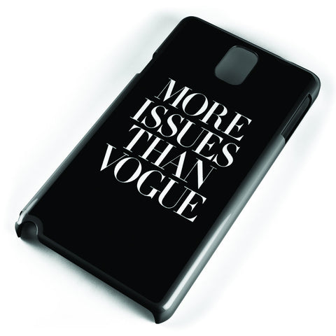 More Issue Than Vogue Samsung Galaxy Note 3 Case Cover ISVA402