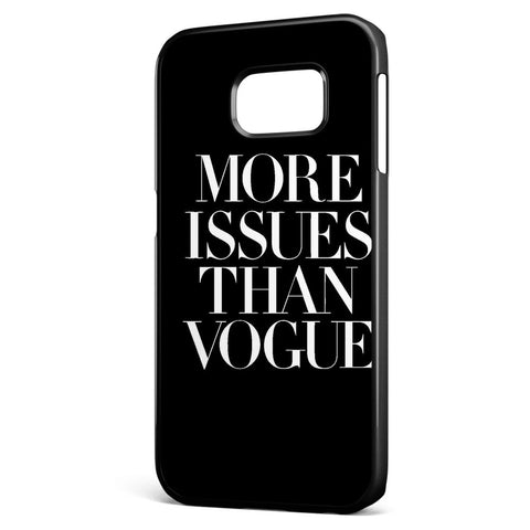 More Issue Than Vogue Samsung Galaxy S6 Edge Case Cover ISVA402