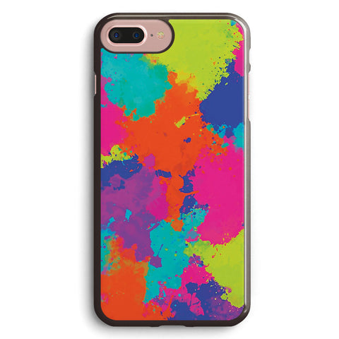 Multicoloured Ink Apple iPhone 7 Plus Case Cover ISVC309