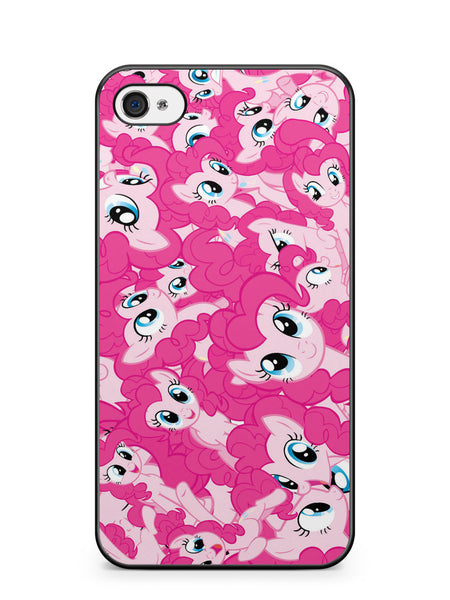 My Little Pony Pinkie Pie Pattern Apple iPhone 4 / iPhone 4S Case Cover ISVA587