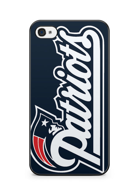 Nfl Patriots Logo Apple iPhone 4 / iPhone 4S Case Cover ISVA197
