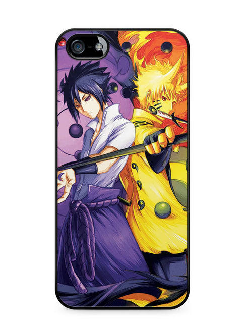 Naruto and Sasuke Six Paths Apple iPhone 5c Case Cover ISVA554