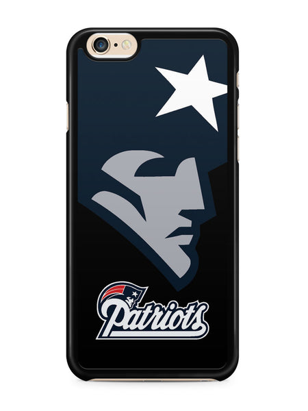 New England Patriots Logo Black Background Apple iPhone 6 / iPhone 6s Case Cover ISVA194