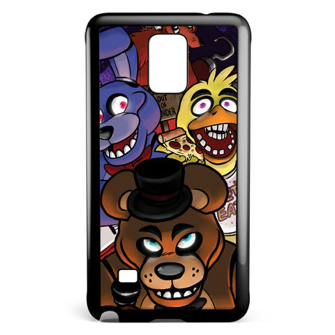Night and Fnaf Samsung Galaxy Note 4 Case Cover ISVA316