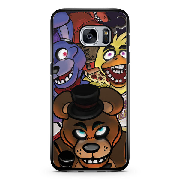 Night and Fnaf Samsung Galaxy S7 Case Cover ISVA316