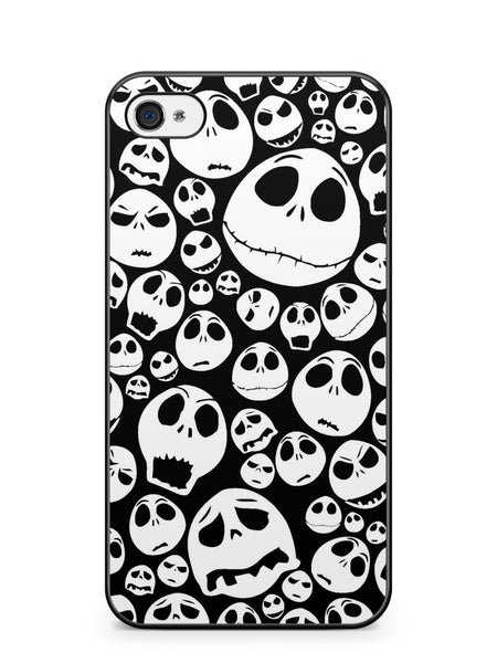 Nightmare Before Christmas Jack Pattern Apple iPhone 4 / iPhone 4S Case Cover ISVA400