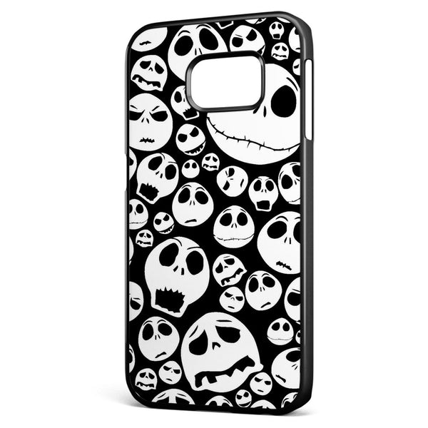 Nightmare Before Christmas Jack Pattern Samsung Galaxy S6 Edge Case Cover ISVA400