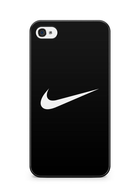 Nike Logo Black Background Apple iPhone 4 / iPhone 4S Case Cover ISVA261