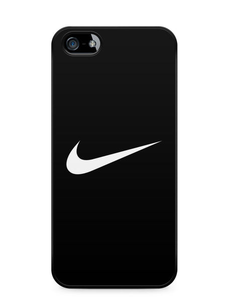 Nike Logo Black Background Apple iPhone 5c Case Cover ISVA261