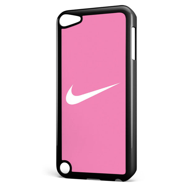 Nike Logo Pink Background Apple iPod Touch 5 Case Cover ISVA262