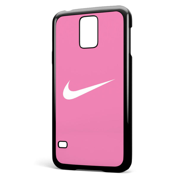 Nike Logo Pink Background Samsung Galaxy S5 Case Cover ISVA262