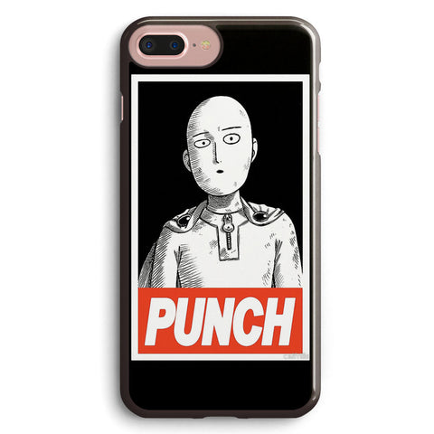 One Punch Man  obey Apple iPhone 7 Plus Case Cover ISVB096