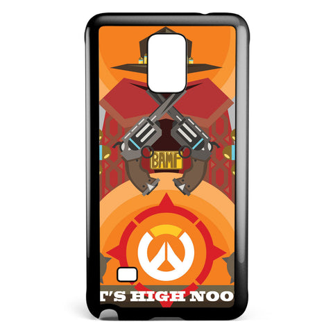Overwatch Mccree Samsung Galaxy Note 4 Case Cover ISVA601