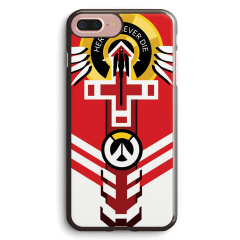 Overwatch Mercy Apple iPhone 7 Plus Case Cover ISVA602
