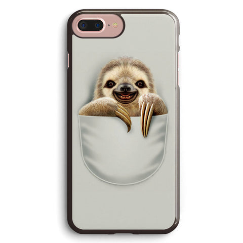 Pocket Sloth Apple iPhone 7 Plus Case Cover ISVD613