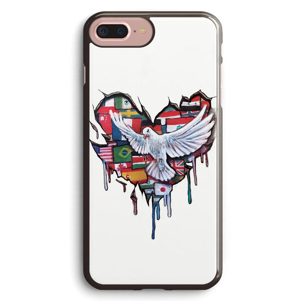 Peace Love Apple iPhone 7 Plus Case Cover ISVB734