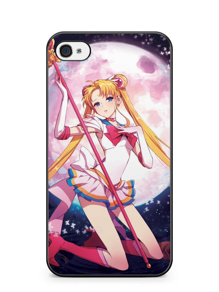 Pinky Sailor Moon Apple iPhone 4 / iPhone 4S Case Cover ISVA606