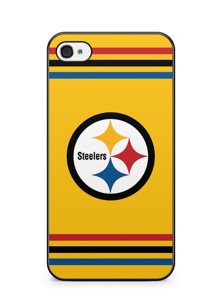 Pittsburgh Steelers Yellow Logo Apple iPhone 4 / iPhone 4S Case Cover ISVA200